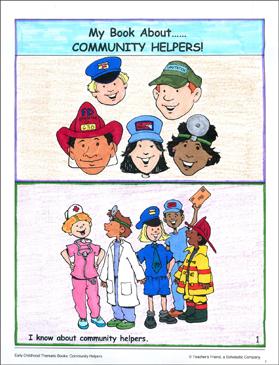 photo regarding Community Helpers Printable Book called My Guide Pertaining to Regional Helpers Printable Mini-Textbooks