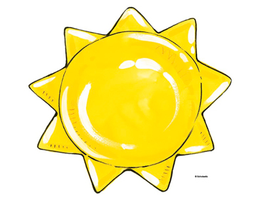 photograph about Printable Picture of the Sun named Yellow Sunlight Printable Clip Artwork and Visuals