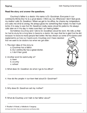 9780439503983_034_xlg  Rd Grade Reading Comprehension Page And Questions on fun games, test practice, worksheets answers, worksheets questions race, test pdf, worksheets k-5,
