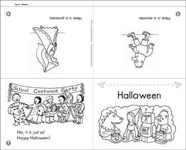 graphic relating to Printable Mini Book identify Point B Mini-Reserve: Halloween Printable Mini-Textbooks