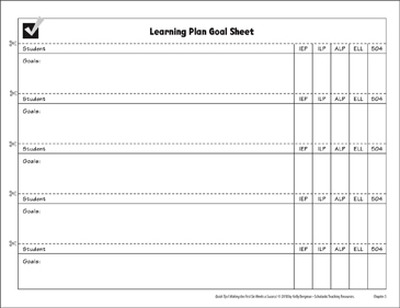 photograph about Printable Goal Sheets called Understanding Application Function Sheet Printable Varieties and Background Sheets