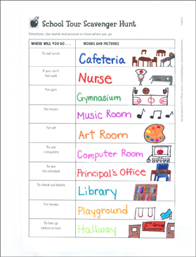 photo about Classroom Scavenger Hunt Printable identified as Clroom Scavenger Hunt Printable Varieties and History Sheets