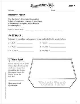 Independent Practice Grade 5 Math Jumpstart 18