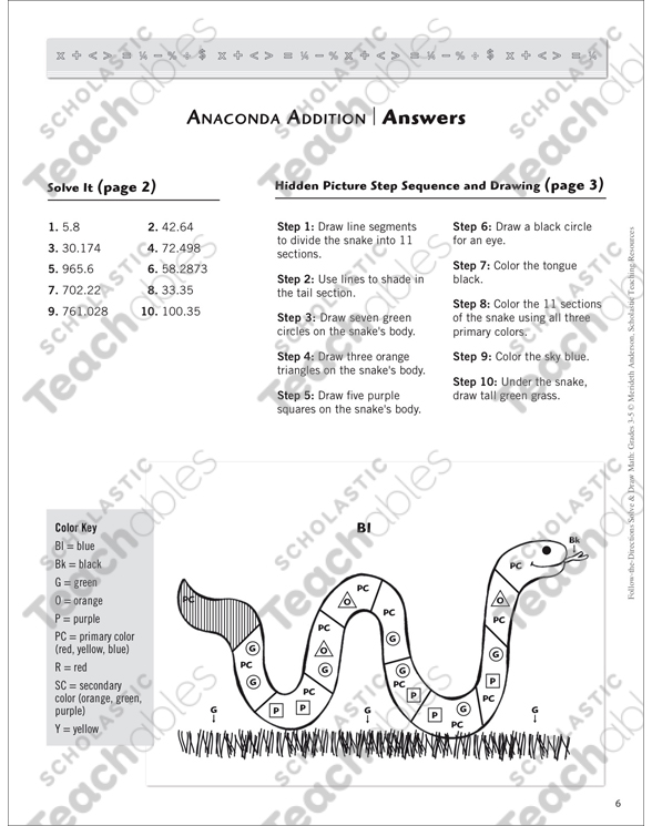 Anaconda Addition Solve Draw Math