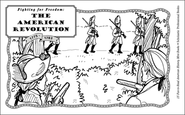 graphic about American Revolution Printable Worksheets identify The American Revolution (1775-1783) Printable Mini-Guides