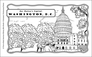 Our Nation's Capital, Washington, D.C. - Printable Worksheet