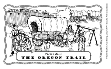 The Oregon Trail (1843) - Printable Worksheet