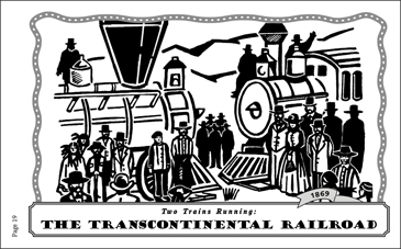 The Transcontinental Railroad (1869) - Printable Worksheet