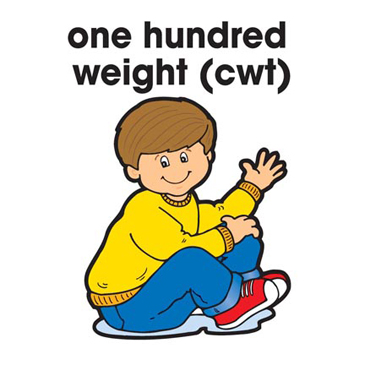 One Hundred Weight (CWT) - Image Clip Art