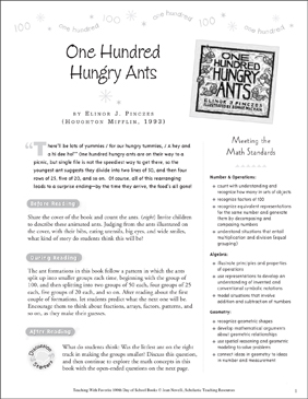One Hundred Hungry Ants: Teaching With This Favorite Book - Printable Worksheet