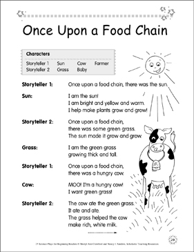 photo regarding Food Chain Printable identify At the time On a Food items Chain: Science Participate in Printable Texts