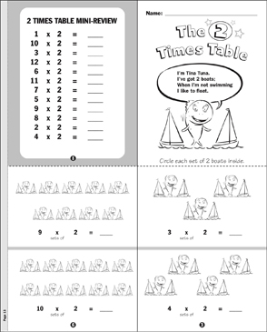 The 2 Times Table - Printable Worksheet