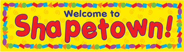 Welcome to Shapetown! - Image Clip Art