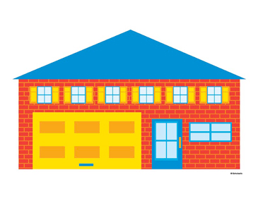 Fire Station - Image Clip Art