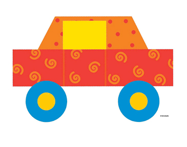 Red Car - Image Clip Art