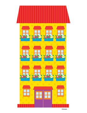 Apartment Building - Image Clip Art