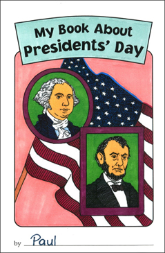 My Book About Presidents' Day - Printable Worksheet