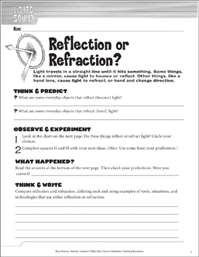 Reflection or Refraction? A Physical Science Journaling ...