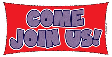 Come Join Us! - Image Clip Art