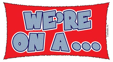 We're On A... - Image Clip Art