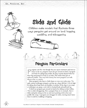 Slide and Glide: Make & Learn Project - Printable Worksheet