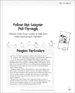 Follow-the-Leaper Pull-Through: Make & Learn Project - Printable Worksheet