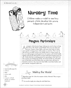 Nursery Time: Make & Learn Project - Printable Worksheet