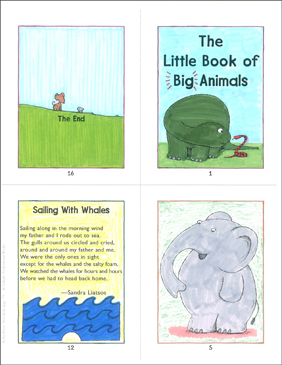 The Little Book of Big Animals - Printable Worksheet
