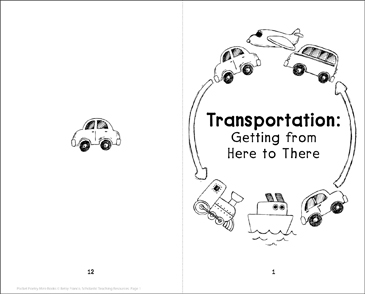 Transportation: Getting from Here to There - Printable Worksheet