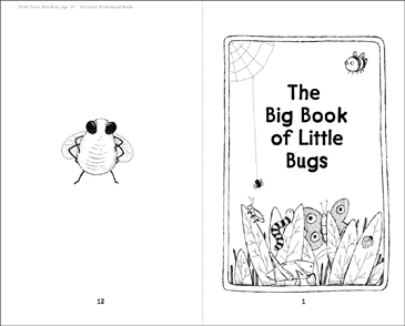 The Big Book of Little Bugs - Printable Worksheet
