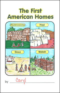 The First Americans: Our Country Write & Read Book - Printable Worksheet
