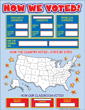 Classroom Election Pack - Printable Worksheet