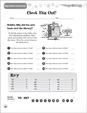 Check This Out - Printable Worksheet