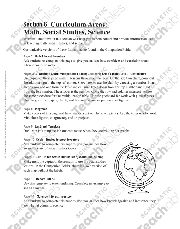 social science report example
