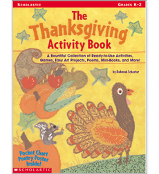 The Thanksgiving Activity Book - Printable Worksheet