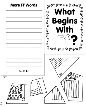 What Begins With Ff? - Printable Worksheet
