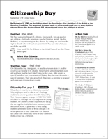 image relating to Printable Citizenship Test known as Citizenship Worksheets, Actions, Printable Online games for Small children