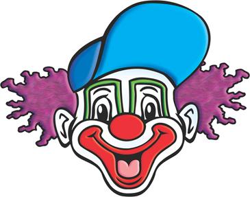 photo regarding Printable Clown Face identified as Clown Facial area Printable Clip Artwork and Shots