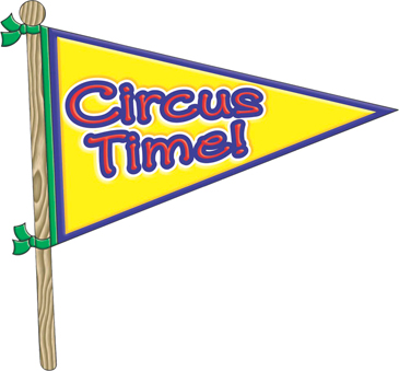 Circus Time! - Image Clip Art