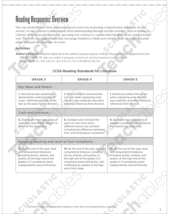 Author's Purpose Grade 5 Collection Printable Leveled Learning. See Inside. Worksheet. Jamestown Worksheet Answers At Clickcart.co