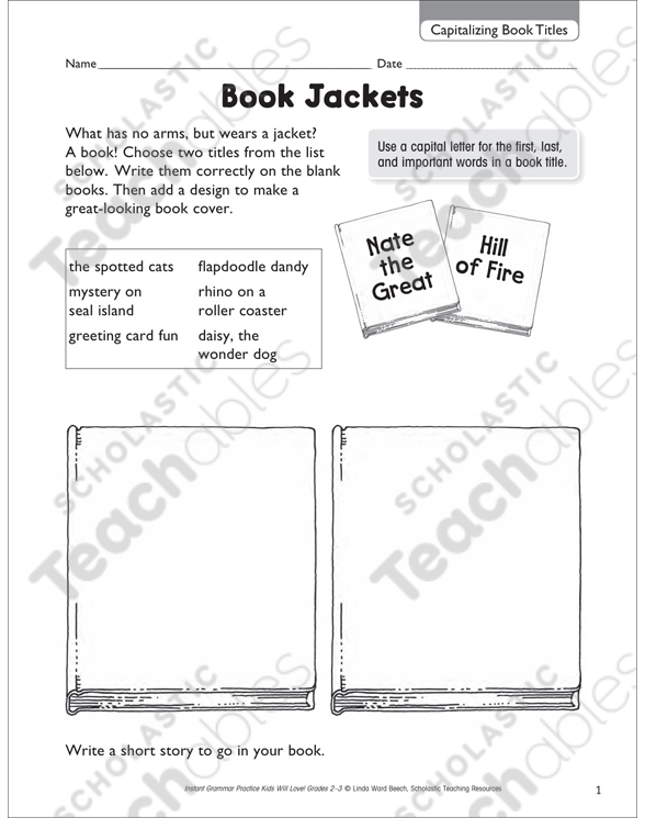 Capitalization Grade 2 Collection Printable Leveled