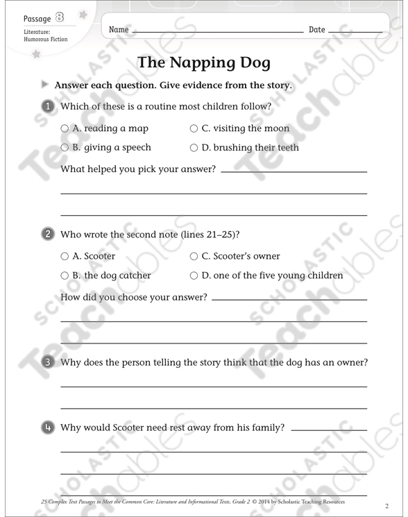 Making Inferences Grade 2 Collection Printable Leveled Learning