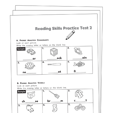 Reading Test Prep Grade 2 Collection | Printable Leveled Learning ...