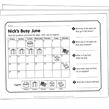 Days Of The Week Grade 1 Collection Printable Leveled