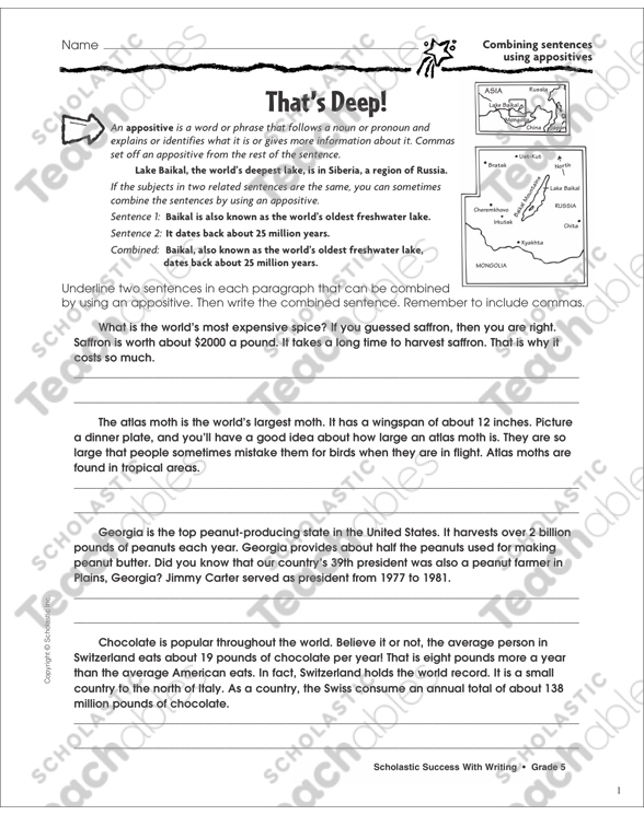 Proofreading Grade 5 Collection | Printable Leveled Learning
