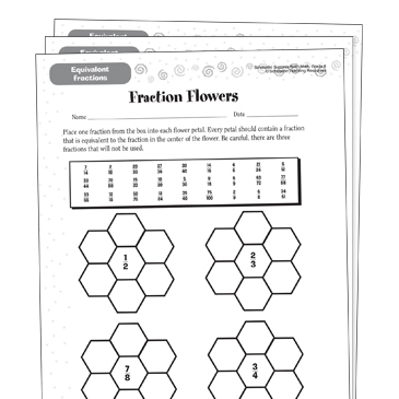 Equivalent Fractions Grade 4 Collection Printable Differentiation Collections