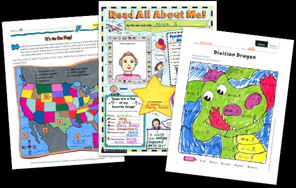 Kindergarten Worksheets, Lesson Plans & Activities - Scholastic